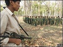 A Maoist rebel