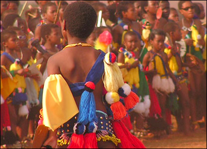 Swaziland's Reed Dance ceremony [Pic: Josee Koch]