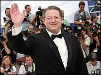 Al Gore at the Cannes Film Festival