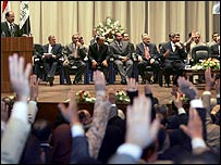 Iraq's parliament approves the Cabinet