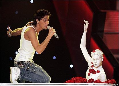 Russian Eurovision entrant Dima Bilan