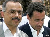 Mr Sarkozy and Mr Benmoussa