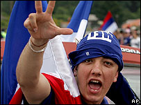 Supporter of union with Serbia