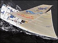 Spanish yacht Movistar