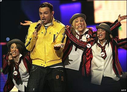 UK Eurovision entrant Daz Sampson