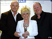 EastEnders stars Ross Kemp, Barbara Windsor and Steve McFadden