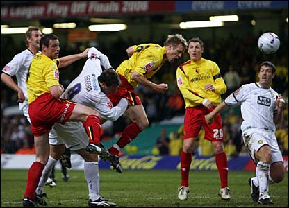 Jay DeMerit heads Watford into the lead