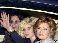 Sharon, Kelly and Ozzy Osbourne