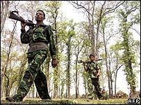 Nepalese Maoist rebels