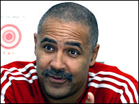 Double Olympic champion Daley Thompson