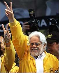 Candidato presidencial Carlos Gaviria.