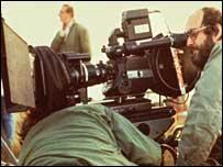 Film director Stanley Kubrick, BBC