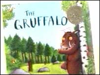 Julia Donaldson's The Gruffalo has sold more than two million copies
