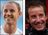 Nicky Butt and Lee Bowyer