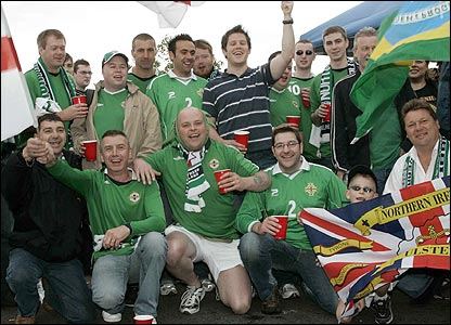 Northern Ireland supporters