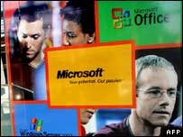Microsoft advert in Vietnam, AFP/Getty