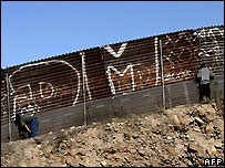 Mexicans on the border