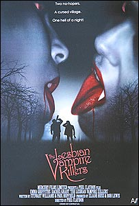 Promotional poster for Lesbian Vampire Killers (AV Pictures)