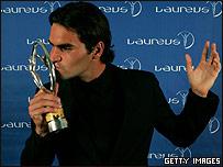 Roger Federer, considerado el mejor por segundo año consecutivo.