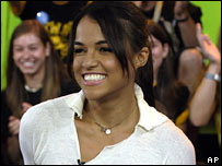 Actress Michelle Rodriguez