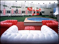 The Big Brother 7 garden