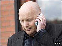 Airdrie United chairman Jim Ballantyne