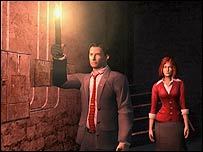 Screenshot of the Da Vinci Code game