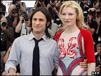 Actors Gael Garcia Bernal and Cate Blanchett