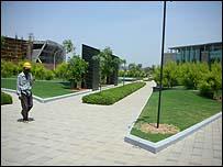 Mahindra building