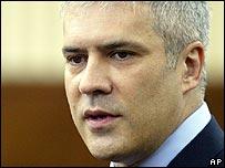 Serbia President Boris Tadic