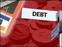 A debt signpost