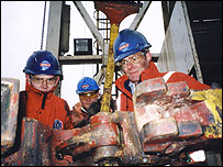 Oil drill