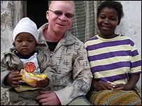 Geoffrey Zigoma and his family