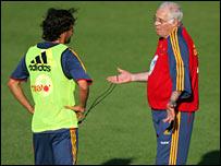 Raul and Luis Aragones