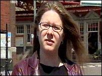Reporter Ruth Lumley