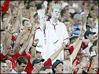 England fans in Portugal in 2004