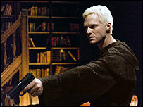 Paul Bettany as Silas in The Da Vinci Code