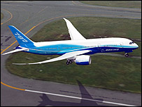Boeing's 787 Dreamliner (Photo: Boeing)