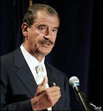Vicente Fox speaking in Utah