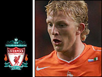 Dutch star Dirk Kuyt