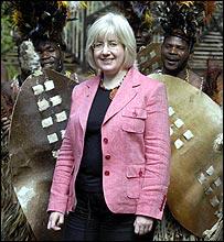 Patricia Ferguson in Malawi