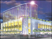 An impression of how a super-casino in Glasgow might look