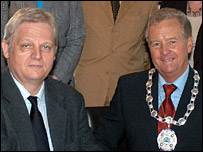 Istvan Tarlos and Colin O'Brien