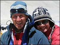 Phil and Pauline Sanderson (Picture from Everestmax)