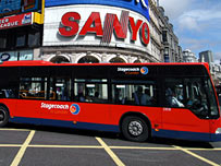Bendy bus, pic by TfL