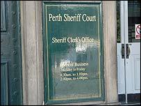 Perth Sheriff Court
