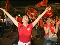 Celebrations in Podgorica