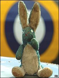 Douglas Bader's toy mascot