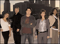 The cast of TV show Standoff (image copyright Fox)