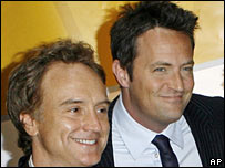 Actors Bradley Whitford and Matthew Perry